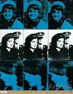 Andy Warhol - Nine Jackies, 1964