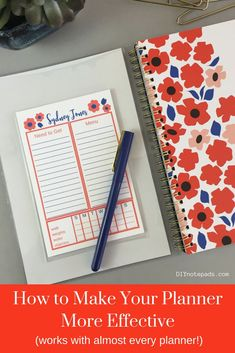 Printable Notepad Paper Simple A Personalized Diy Notepad Is A Great Gift For All Agesthese .