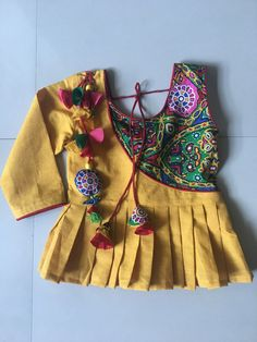 Garba Dress, Navratri Dress, Baby Frocks Designs, Kids Frocks Design, Stylish Blouse Design, Fancy Blouse Designs, Frocks For Girls, Dresses Kids Girl, Baby Girl Dress Design