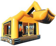 Construction Truck Bounce House