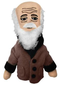 Charles Darwin Finger Puppet and Refrigerator Magnet - By The Unemployed Philosophers Guild The Unemployed Philosophers Guild http://smile.amazon.com/dp/B001W2ZS48/ref=cm_sw_r_pi_dp_n1zfxb0TJJX34