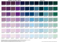 Carta color Pantone 9   |   Color Pantone chart 9