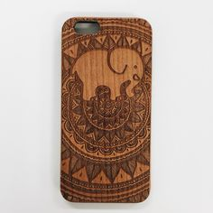 Engraved Cherrywood Ella Phone Case ($135,000) ❤ liked on Polyvore featuring accessories and tech accessories