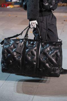 Louis Vuitton Fall 2019 Men& Fashion Show Details Louis Vuitton Mens Bag, Louis Vuitton Luggage, Louis Vuitton Shoes, Louis Vuitton Handbags, Men Fashion Show, Fashion Bags, Men's Fashion, Handbags For Men, Purses And Handbags