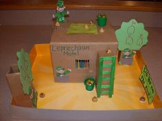 4 clovers and leprechaun traps that work