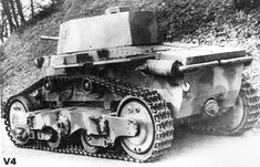 Hungarian Light Tank v-4_ Army Vehicles, Armored Vehicles, Tank Armor, Ww2 Pictures, Tank Destroyer, Armored Fighting Vehicle, Ww2 Tanks, Battle Tank, Military Equipment