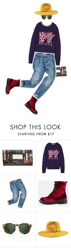 """Untitled #1652"" by zayngirl1dlove ❤ liked on Polyvore featuring Marc Jacobs, Quattrocento and Brixton"