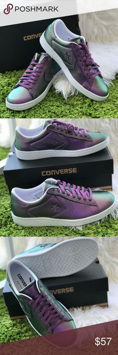 19123d295414e5 NWT Converse Pro Leather LP OX Violet Fantory W AU Brand new with box. Price