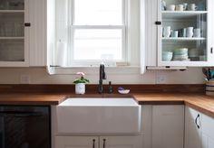 The One Big Drawback to a Farmhouse Sink — The Farmhouse Kitchen