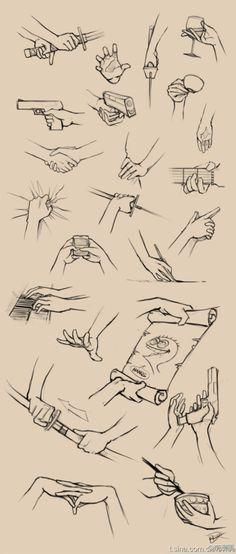 Hey look! More hand studies!