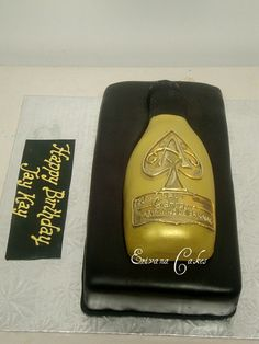 Ace Of  Spades Champagne Cake (SP013)