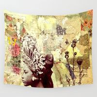 Wall Tapestry featuring Seeking Serenity by LadyJennD