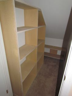 Oh Jason.... can you build me some shelves? Coat closet organization.