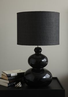 'Marbella' Black Table Lamp