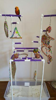 Parrot PVC Play Gym
