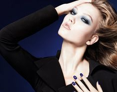 Dior Blue Tie Collection (Fall 2011)