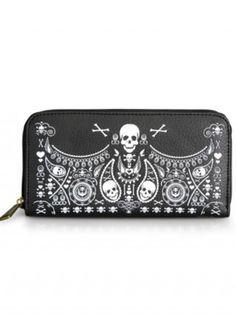 Skull Bandana Wallet by Loungefly (Black)