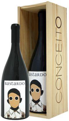 bastardo wine.   A little odd IMPDO.  #packaging #wine #label