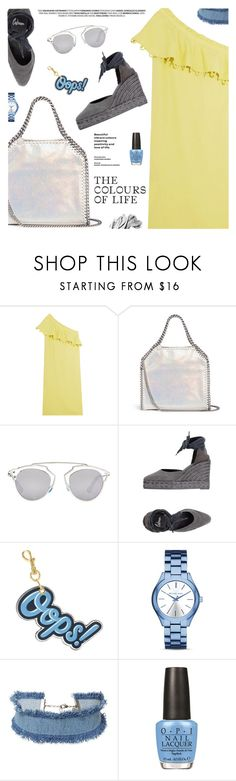 """""""Summer Style"""" by pokadoll ❤ liked on Polyvore featuring Apiece Apart, STELLA McCARTNEY, Christian Dior, Castañer, Anya Hindmarch, Michael Kors, DANNIJO, OPI, Bobbi Brown Cosmetics and polyvoreeditorial"""