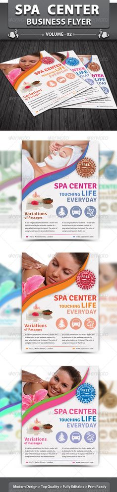 Spa & Beauty Saloon Flyer | Volume 6