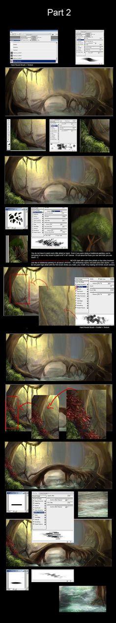 Forest Tutorial Part 2 by Lunar-lce on deviantART