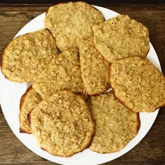Slimming World Oat Cookies Slimming World Oat Biscuits, Slimming World Cookies, Slimming World Sweets, Slimming World Syns, Slimming Eats, Slimming Word, Slimming World Flapjack, Slimming World Healthy Extras, Slimming World Recipes Syn Free