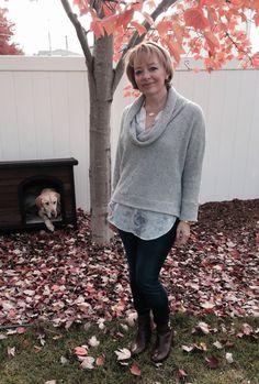 Stitch Fix Sweet Grey Cusso Sweater