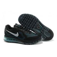 separation shoes c6ca5 16c5c Mens Nike Air Max 2014 Black Blue Shoes Buy Nike Shoes, Cheap Nike Running  Shoes