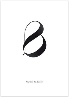 Inspired by Bodoni - see more on: www.moshik.net