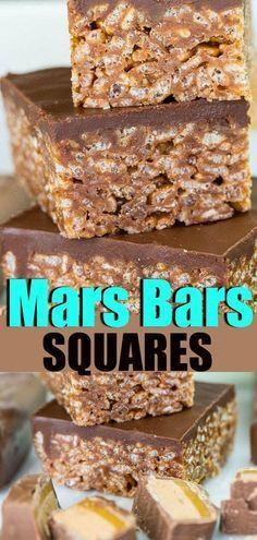 Mars Bars Squares, just like Grandma used to make! Mars Bars Squares, just like Grandma used to make! Christmas Cooking, Christmas Desserts, Köstliche Desserts, Dessert Recipes, Picnic Desserts, Carmel Desserts, Easy Dessert Bars, Mars Bar Squares, Date Squares