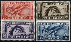 Stamps of Italy: 17th Milan Fair (1936)