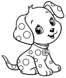رسومات اطفال للتلوين حيوانات وطيور وحشرات بأشكال جميلة جدا ورائعة Puppy Coloring Pages Dog Coloring Page Cute Dog Drawing