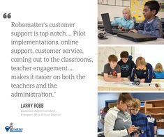 Customer Feedback about our STEM Robotics Curriculum!