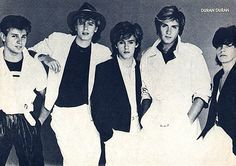 Duran Duran- I think I had this poster.