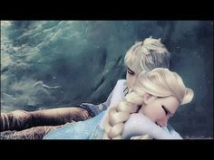 the one that i love [ Say something ] ~ Elsa x Jack Frost - YouTube this is mind blowing i almost cried oh my god