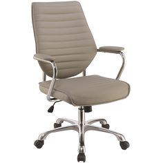 Scott Living 80132 Contemporary High Back Office Chair - Coaster Fine Furniture Rolling Office Chair, High Back Office Chair, Best Office Chair, Office Chairs, Desk Office, Office Decor, Bar Chairs, Room Chairs, Lounge Chairs