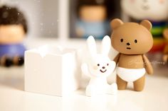NappyBear & Naughty Rabbit | by 。°✿fragile✥existence✿°。