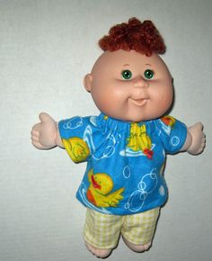 Cabbage Patch Newborn Surprise Doll  Blue Ducky by Dakocreations, $13.99