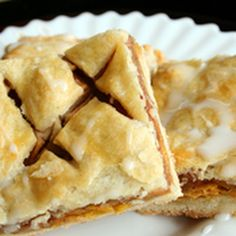 Apple pastries may just be our favorite out of all of the pastries!!- Try these frosted apple squares today :)