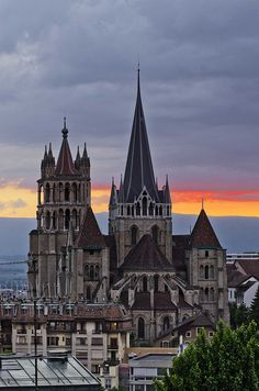Notre Dame, Lausanne, Switzerland.  Taken by EHL student Claudio Zenger