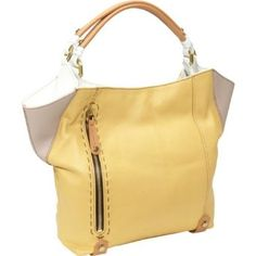 Oryany Handbags Aquarius AQ475 Shoulder Bag,Custard Multi,One Size - Sale: 	$272.00