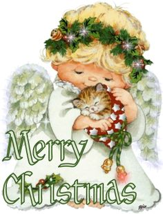 Merry Christmas with love gifs gif funny memes meme lol lmao funny images cute cats humor cat gifs images christmas gifs art gifs holiday jokes christmas memes Christmas Scenes, Merry Christmas And Happy New Year, Vintage Christmas Cards, Christmas Cats, Christmas Pictures, Christmas Angels, Christmas Greetings, Winter Christmas, Christmas Time