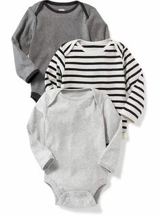 Hipster Baby Boy |old-navy | Affordable adorable modern baby clothes Grey black onesies long sleeve | Cool baby #affiliate