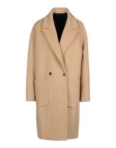 MSGM: Camel Wool-Blend Coat
