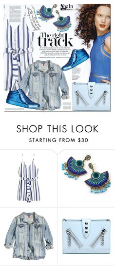 """""""SheIn 5"""" by barbarela11 ❤ liked on Polyvore featuring H&M, Kenzo, Winter, chic, Sheinside, winterstyle and shein"""