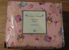 Laura-Ashley-Children-039-s-pink-Fairy-twin-Size-Sheet-Set-NEW