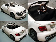 Mercedes SLK300 Convertible by Sliceofcake.deviantart.com on @deviantART