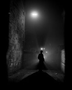 """Film Noir Aesthetics --- Paul Duncan writes, """"I think of stillness and silence... a black screen with tiny pinpricks of white trying to break through."""""""
