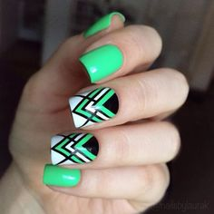 nail art designs … Unique and Beautiful Nail Art Design Ideas Collection for College Girl Nail Art Diy, Diy Nails, Cute Nails, Heart Nail Designs, Best Nail Art Designs, Nail Swag, Do It Yourself Nails, Nailart, Plain Nails