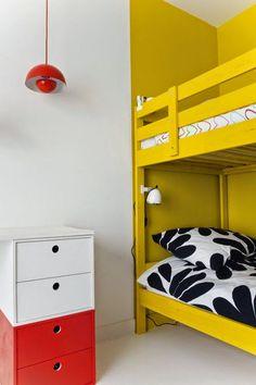 mommo design: IKEA HACKS FOR KIDS - Yellow Mydal bunkbed